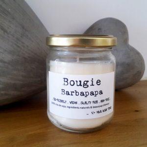 bougie végétale barbapapa - unjourpeutetre