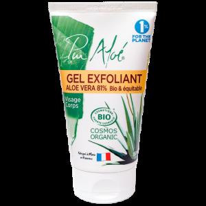 gel exfoliant pur aloe - unjourpeutetre